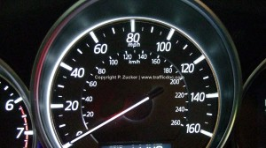Speedometer for speeding tickets